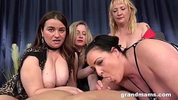 4 Grannies 1 Poor Cock