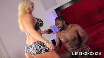 Busty blonde pornstar loves pleasing big black cocks