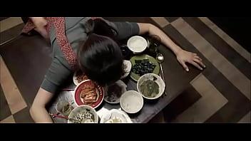 Korean Household Fucked While Eating Dinner