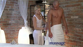 Massage Rooms Young Blonde Masseuse Has Squirting Orgasm Over Oiled Hunk