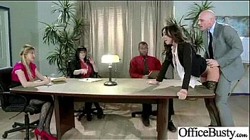(stephani moretti) Office Slut Girl With Big Melon Tits Banged Hardcore mov-30