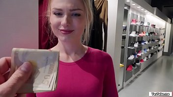 Russian Sales Attendant Sucks Dick In The Fitting Room For A Grand thumbnail
