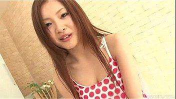 Cute Suzuka loves how her boyfriend licks and sucks her furry muff