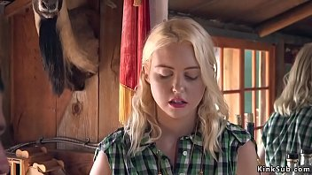 blonde beauty chloe cherry tied up in her saloon by drifter xander corvus and then got anal pussy pounded