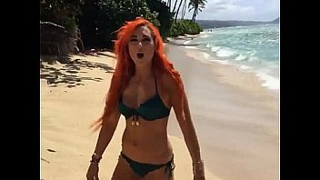 WWE's Becky Lynch SEXY Bikini PhotoShoot on Hawaii!!