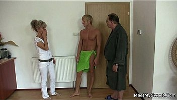 Watch Watch old and young porn sweet innocent girlfriend gets fucked by grandpa - Teen and milf fucked by old fat guy preview