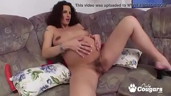 Watch Pregnant Babe Fingers Her Hairy Roast Beef Pussy preview