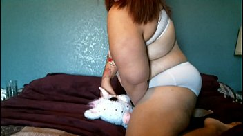 Pillow humping bbw pawg