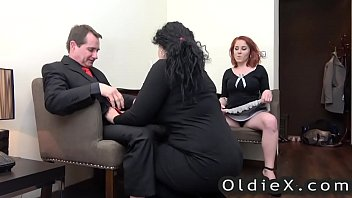 Hardcore maid knows how to please her house master