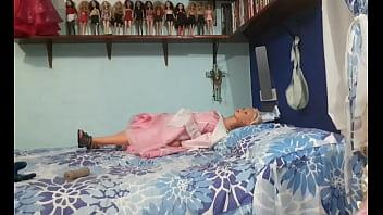 Me chingo a una princesa en mi cama (buen video)