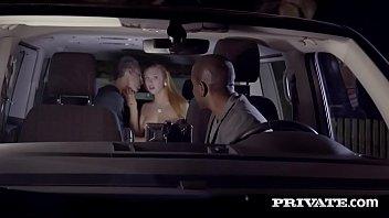Ornella Morgan fucks in the backseat of a taxi