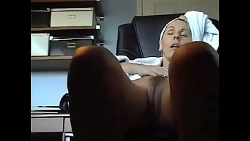 Mom playing with her clit