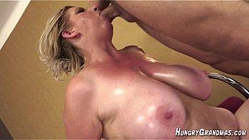 Big Tit 55yo blonde Colette