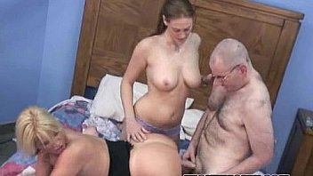 Busty Alexis is getting fucked in a threesome