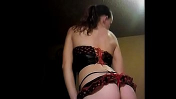 Southern girl with beautiful body teasing at home
