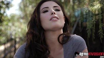 Pornstar babes BBC fucked in threesome