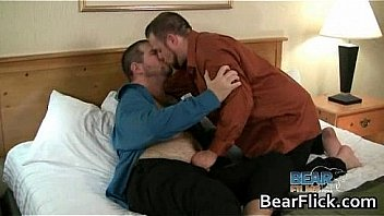 Chubby gay men Craig Knight & Russ gay sex