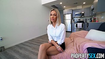 PropertySex Homeowner Fucks His Fiance's Hot Blonde Younger Sister in Apartment He Hired Her To Sell For Him