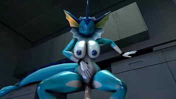Evilbanana vaporeon hot pokemon