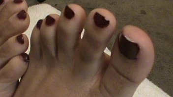 Sasha Gee Beautiful Puerto Rican girls toes