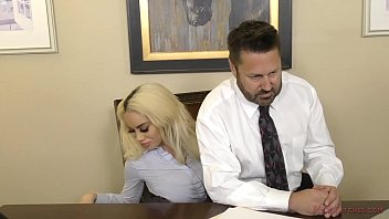 Boss Victoria June Sexually Harasses Her Employee