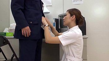 Asian officer fucked by nurse