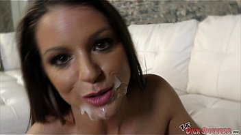 MILF Brooklyn Chase gets a hot facial