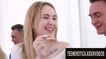 Phat Ass Teen Bella Mur Double Drilled