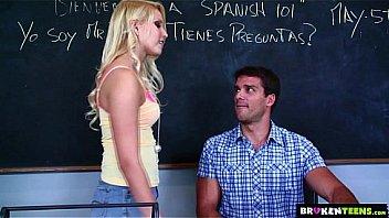 BrokenTeens - Vanessa Cage Has a Crush on the Spanish Teacher