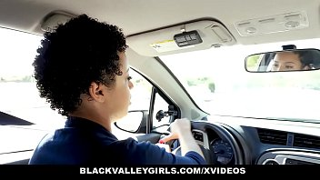 BlackValleyGirls - Fucking the Driving Teacher to Pass Her Test Thumbnail