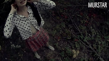 Young student is always happy to have sex in the forest || Murstar