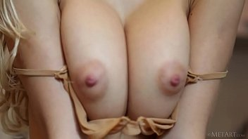 Big titted European beauty Candice B undressing Thumbnail
