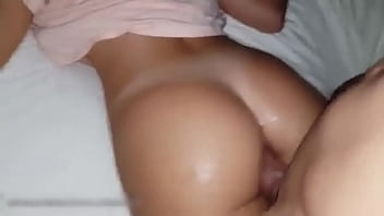 Horny Sister Anal fucked from her older brother we are alone at home - Anal sex