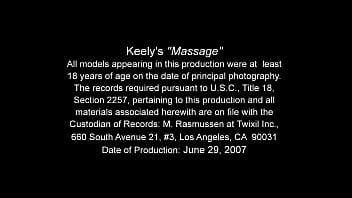 Teen keely rubbed by old man
