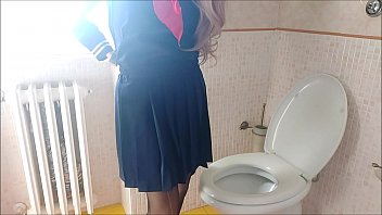 Aunt Chantal has no privacy even in the bathroom: this video shouldn't be released (watch it before theyll delete it)