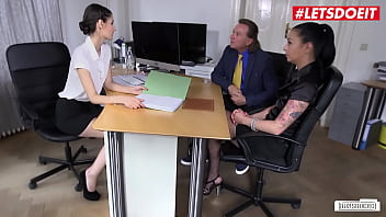 LETSDOEIT - #Coco Kiss - Teasing Hot Babe Turns On Her Boss And Fucks With Him