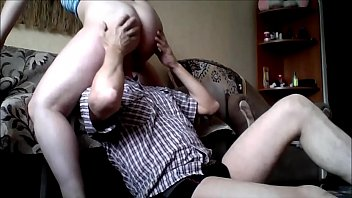 She Rides His Face With her Pussy Amateur Face-Sitting Video