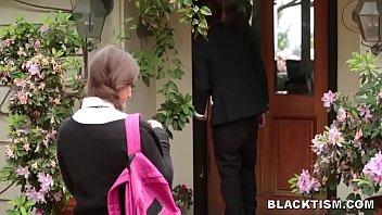 Big Black Cock Bruger Schoolpige...