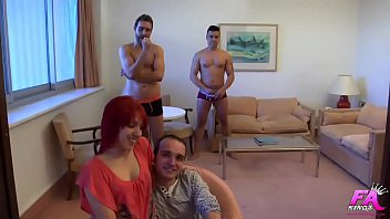 My first DP: Pamela, ass-virgin, drilled by two cocks at the same time