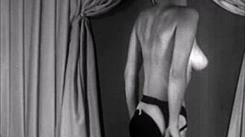 vintage real Blonde undress