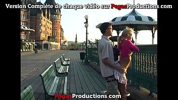 Compilation Amateur Candy Kiss Fourre en Public à Quebec