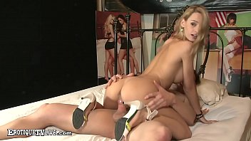 Portugal Pussy, Erica Fontes, gets her Euro snatch banged by rock hard cock Eric John in this live recording by ErotiqueTVLive.com