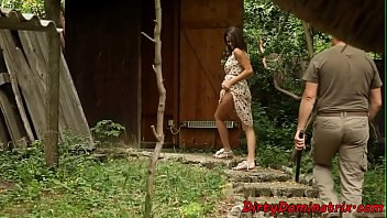 Classy babe teasing maledom with her solo