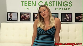 Real Brutal Casting For Bigass Teen