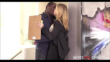 sexy blonde wife britney amber cheats on husband with a black nfl player