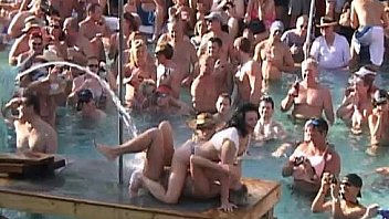 Hot Body Contest at Pool Party Key West
