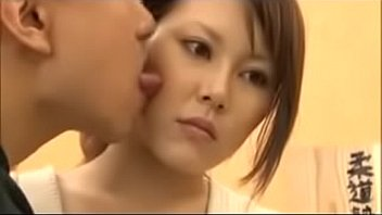 HOT japanese face-licking