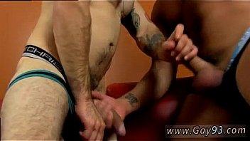 Blond hot gay sex uncut top for an uncut bottom