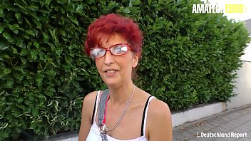 AMATEUR EURO - Newbie Mature Evelyn S. Bangs For Some Cash