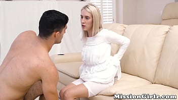 Innocent Mormon gal pounded by hairy guy